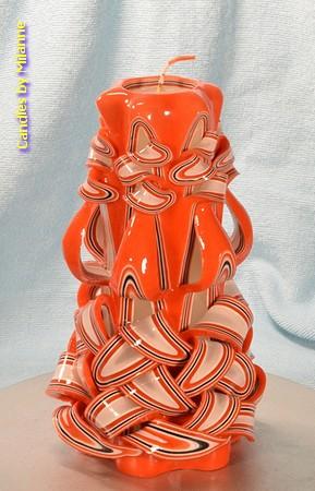 Kaars, handgesneden, 22 cm 51007 (zeer exclusief)