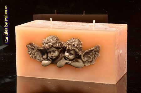 Engel Kerze CREME, design 2