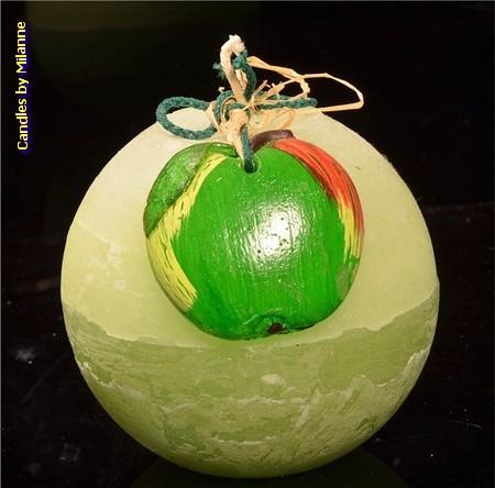 Appel, Kogel kaars, 10 cm