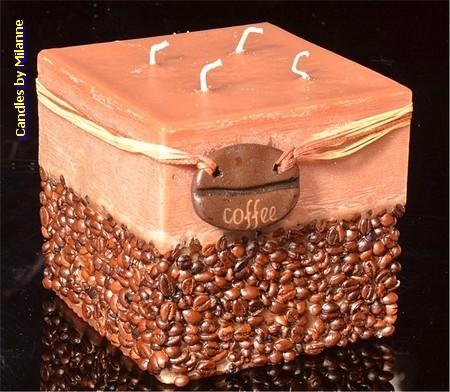 Koffiekaars Vierkant BRUIN xxl