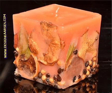 Fruchte Kerze ORANGE