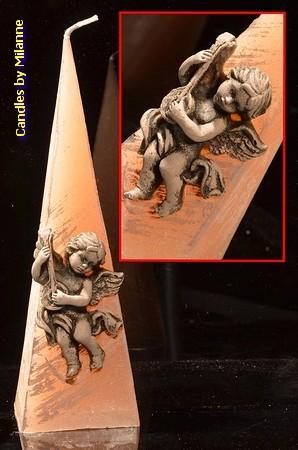 Engel Kerze, Pyramide 23 cm