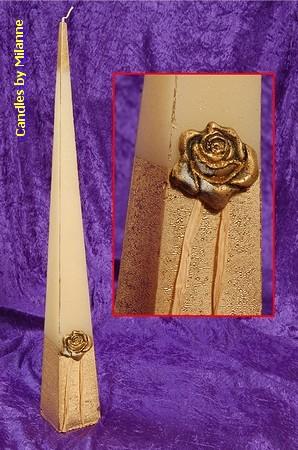 Gouden Roos, Piramide, 70 cm