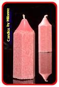 Bleistift Kerze, VANILLE-HIMBEER