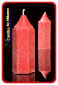 Bleistift Kerze, SCHWARZE JOHANNESBEERE