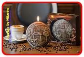 Kaffee Kerze, Disk 13 cm