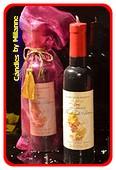 Wein Flasche Kerze, Höhe: 28 cm