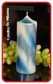 Klok kaars XXL, type Panama, hoogte 19 cm