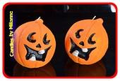 Halloween Kerze, 2 STÜCK