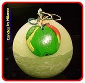 Apfel Kugel, 10 cm