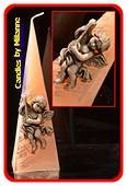 Kaars Engelen, Piramide 35 cm