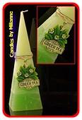 Grüne Tee, Pyramide, 33 cm