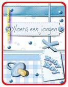 GEBOORTE JONGEN 1 Geschenkkaartje