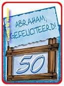 ABRAHAM Geschenkkaartje